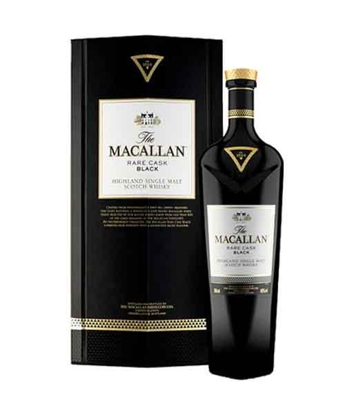 Rượu Macallan Rare Cask Black và hộp giấy