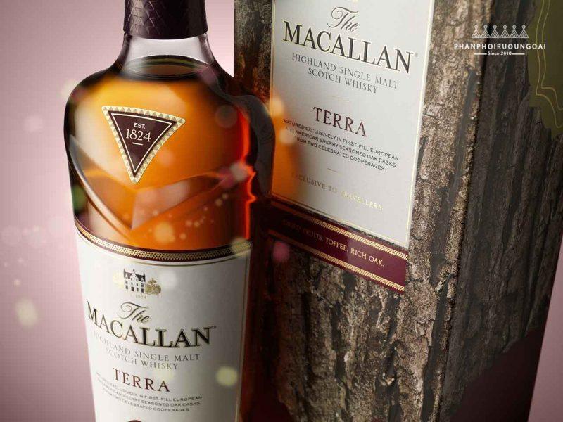 Rượu Macallan Terra ảnh chụp thực tế - The Macallan Quest