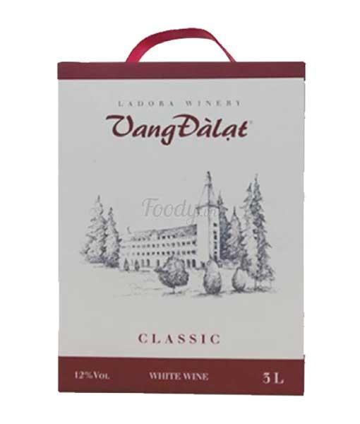 Rượu vang đà lạt classic White Wine