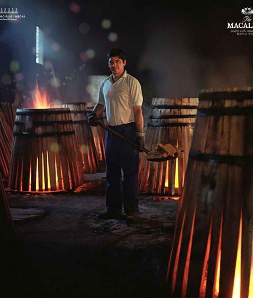 thùng gỗ sồi ngâm rượu Sherry chiếm 60% hương vị cuối cùng của rượu