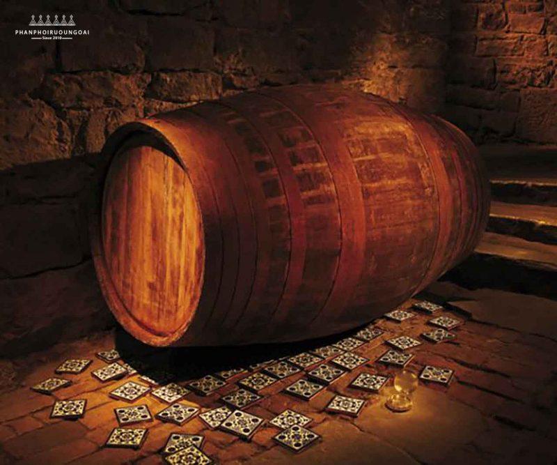 Thùng gỗ sồi Port Pipes của rượu Glenmorangie