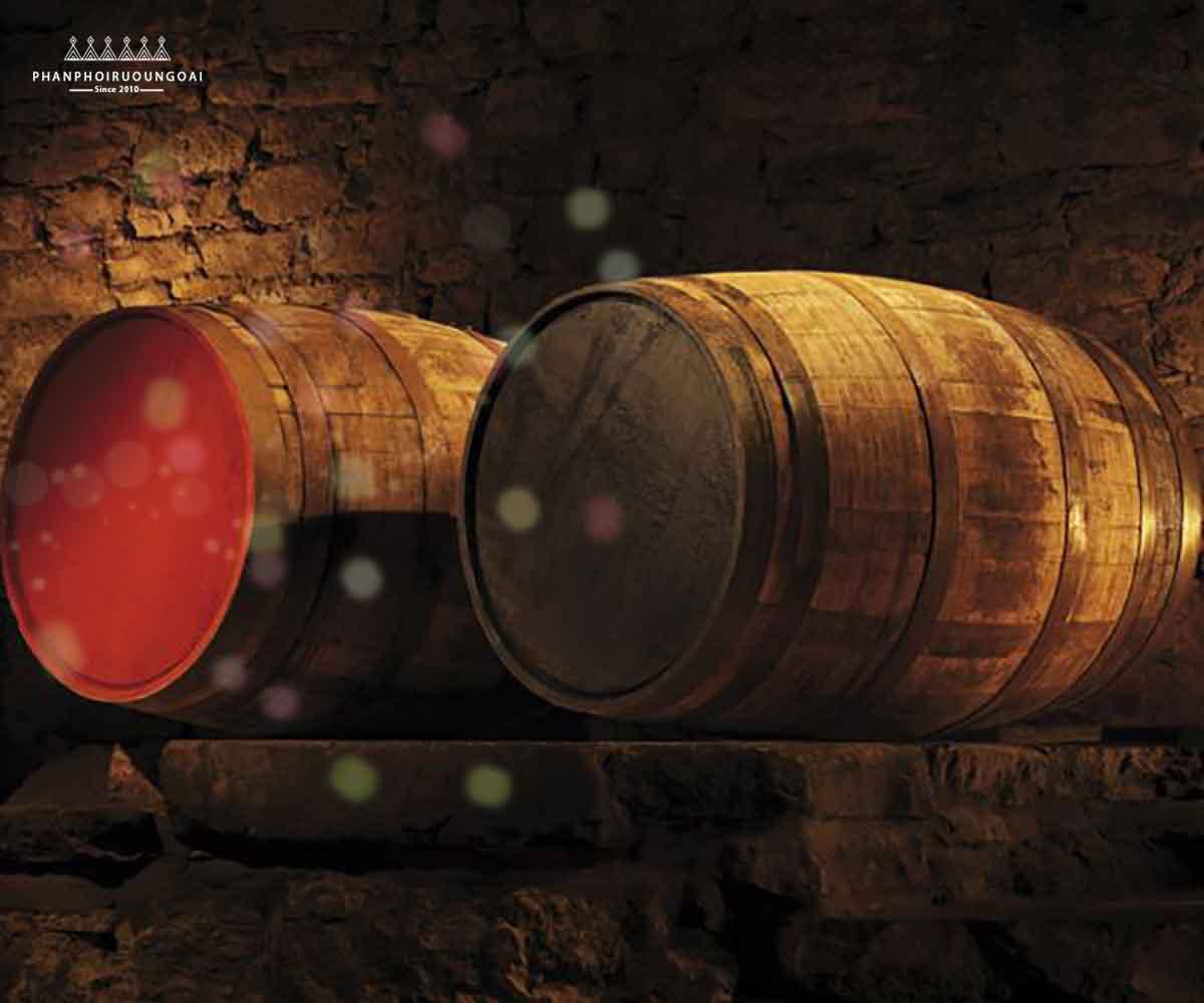 Thùng gỗ sồi tại Glenmorangie chỉ được sử dụng 2 lần