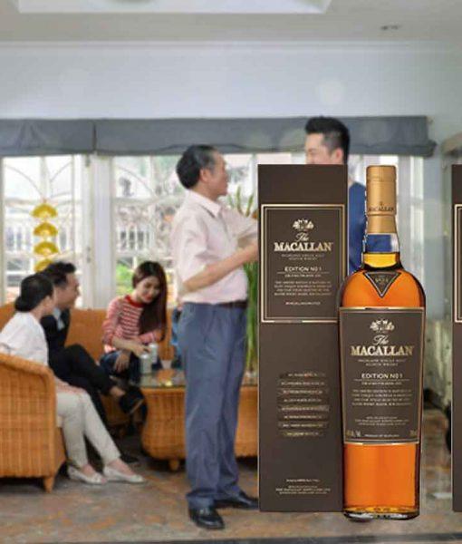 Rượu Macallan Edition No.1 phù hợp cho biếu tặng