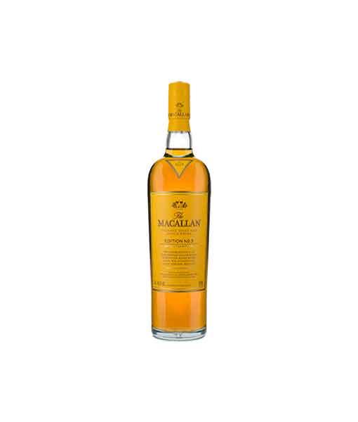Rượu Macallan Edition No.3 thuộc dòng Macallan Edition Series
