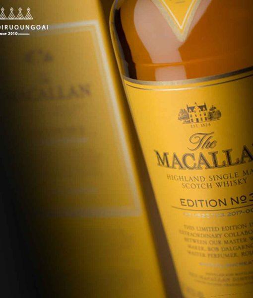 Giới thiệu dòng rượu Macallan Edition Series