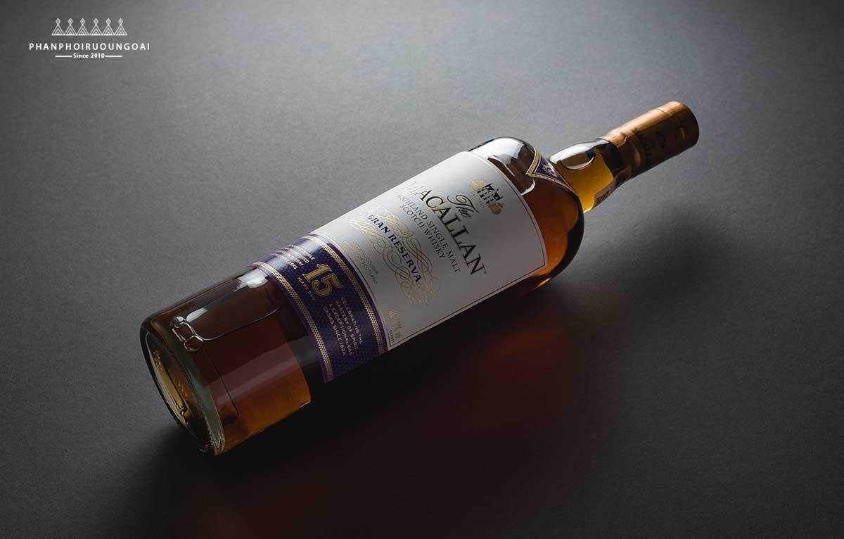 Hình ảnh chai rượu Macallan Gran Reserva