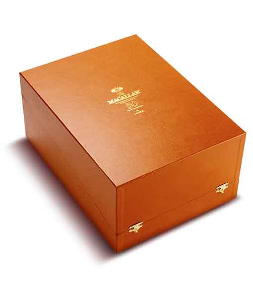 Hộp rượu Macallan 50 năm Lalique