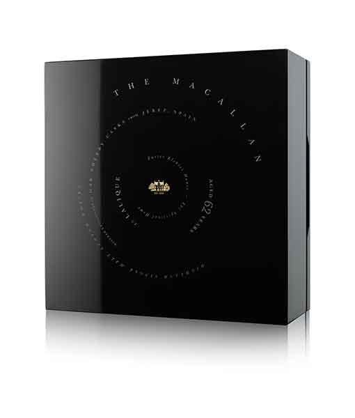 Hộp rượu Macallan 62 năm Lalique - The Macallan Lalique