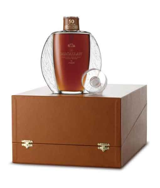 Mở hộp Macallan 50 năm Lalique