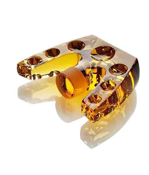 Nút chai rượu Macallan 55 năm thể hiện khả năng chế tác tài tình của nhà Lalique