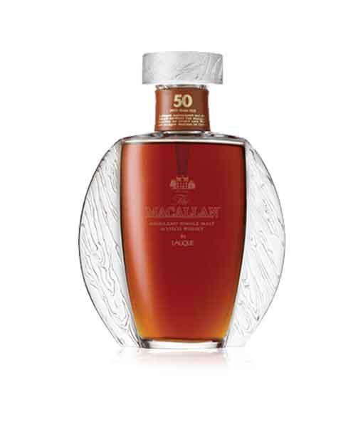 Rượu Macallan 50 năm Lalique q