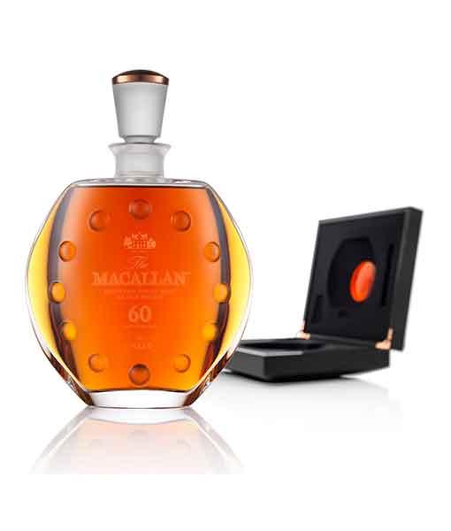 Rượu Macallan 60 năm Lalique và hộp