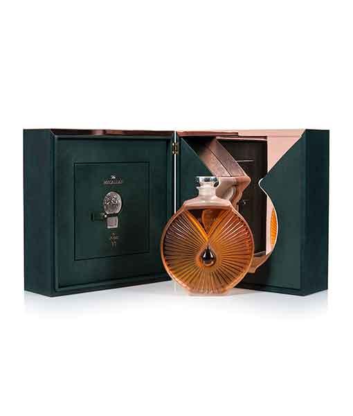 Rượu Macallan 65 năm và hộp - The Macallan in Lalique