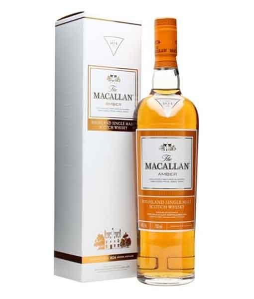 Rượu Macallan Amber và hộp giấy