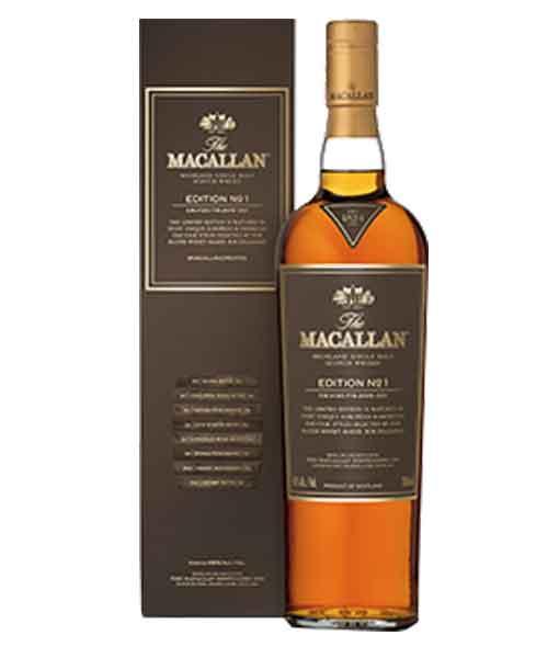 Rượu Macallan Edition No.1 - The Macallan Edition Series