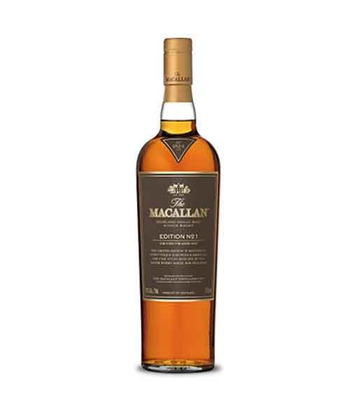 Rượu Macallan Edition Series No.1
