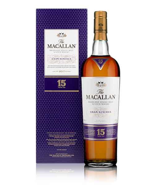Rượu Macallan Gran Reserva 15 năm và hộp
