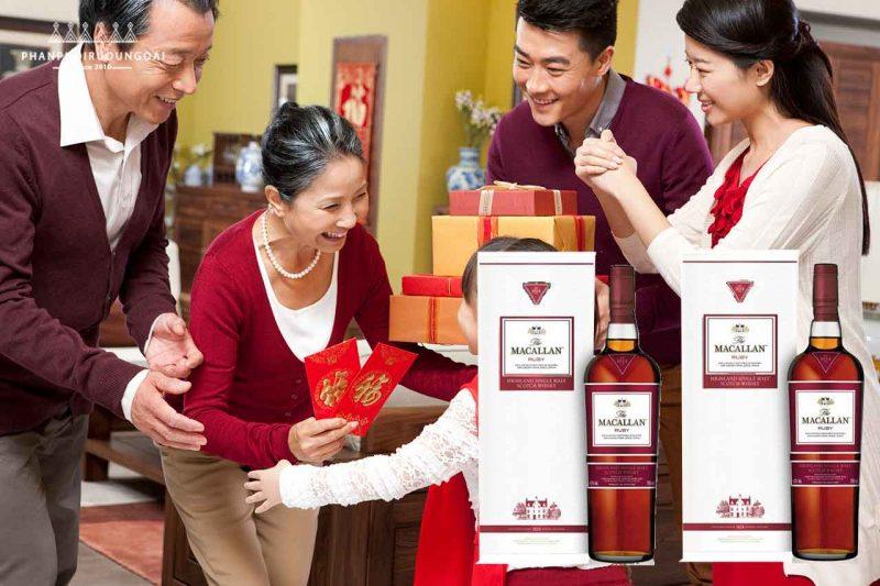 Rượu Macallan Ruby phù hợp cho biếu tặng