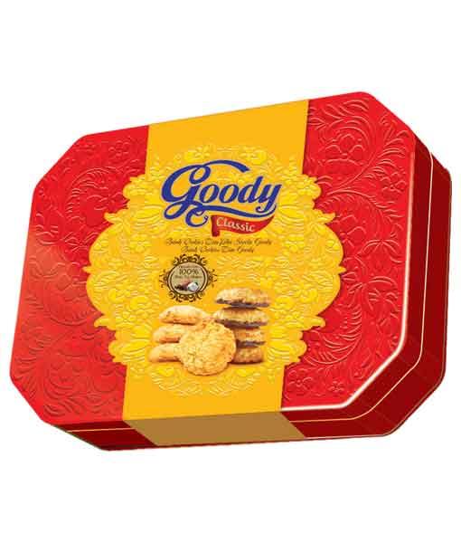 Bánh hỗn hợp hộp thiếc Goody Classic 310 gram
