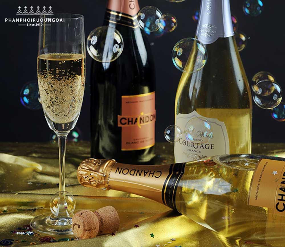 Giới thiệu về rượu Sparkling Wine