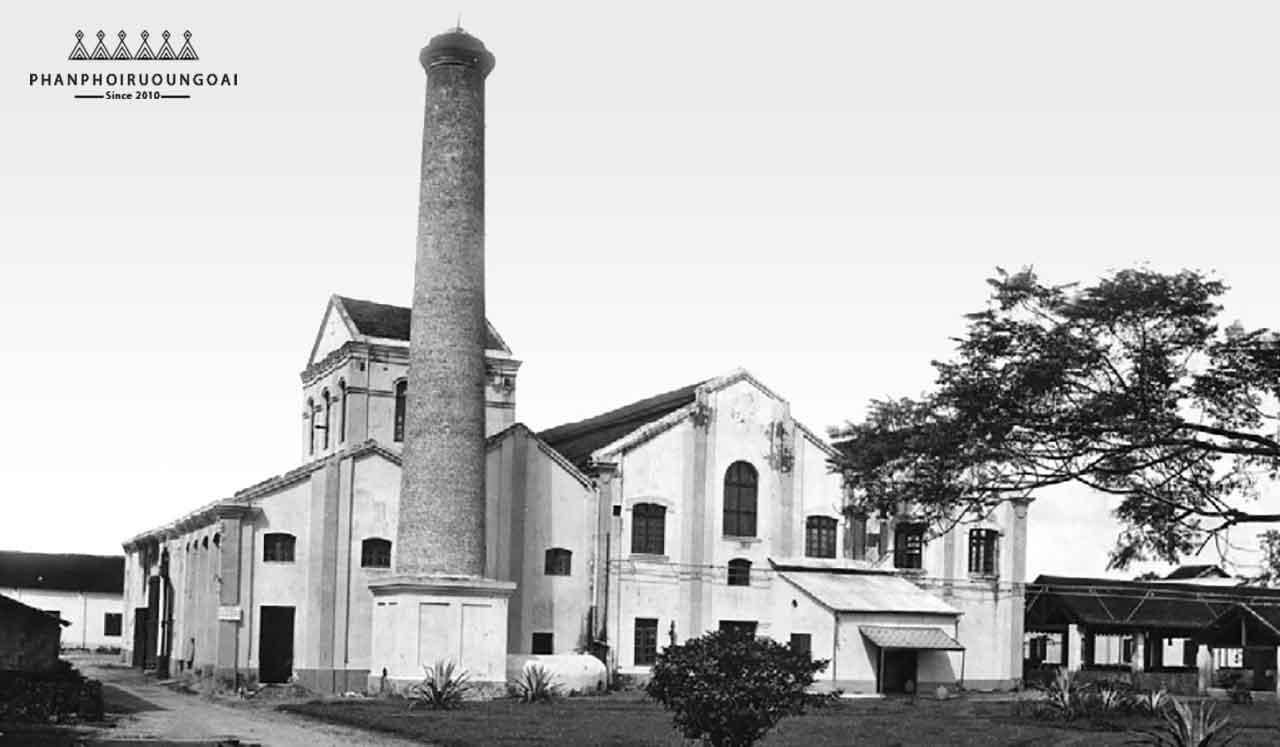 Nhà máy cồn rượu Hà Nội - Halico trong quá khứ