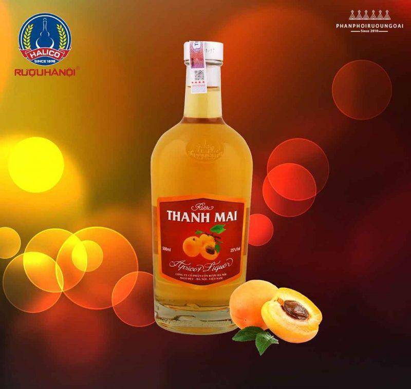 Quảng cáo rượu Thanh Mai (Mơ) của Halico