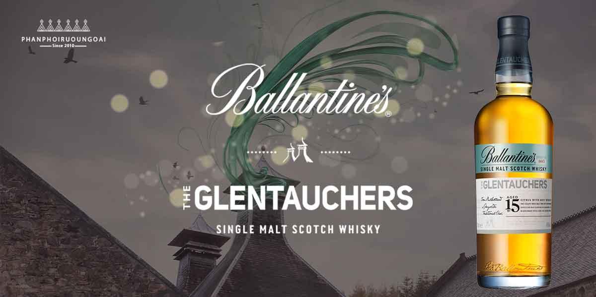 Ấn tượng mạnh mẽ với rượu Glentauchers 15 năm