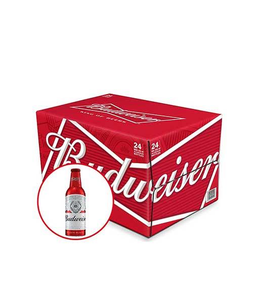 Bia Budweiser chai nhôm 355 ml