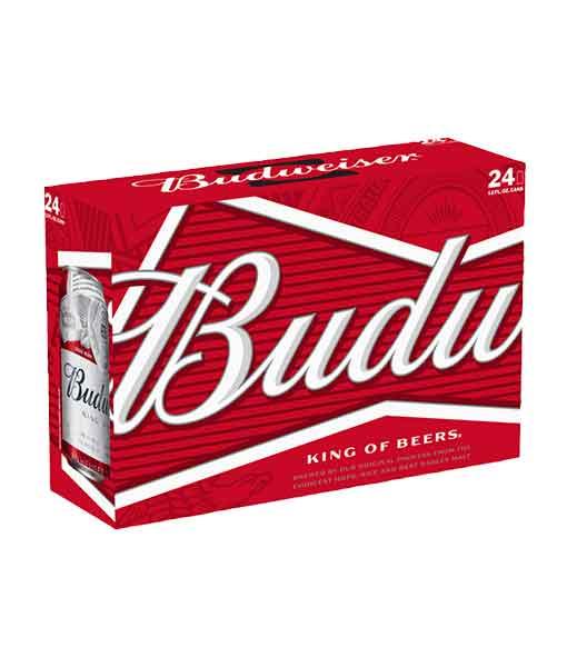 Bia lon Budweiser 330 ml