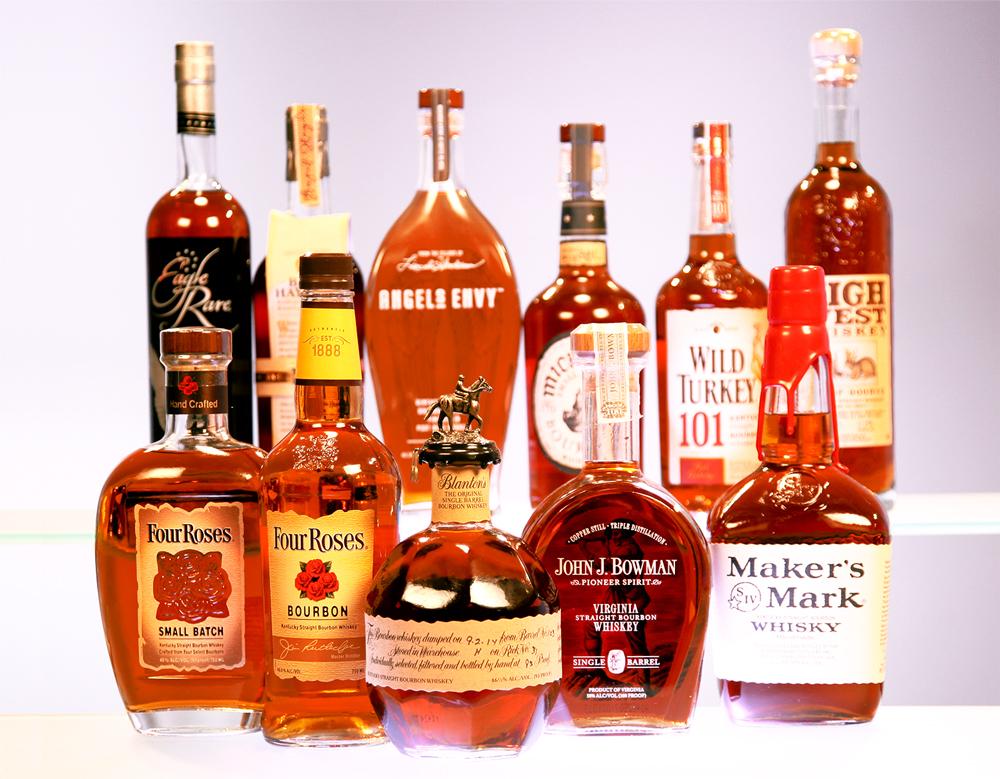 Các loại Bourbon Whisky