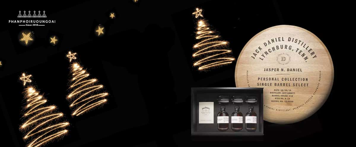 Các chai rượu mẫu của Single Barrel Select