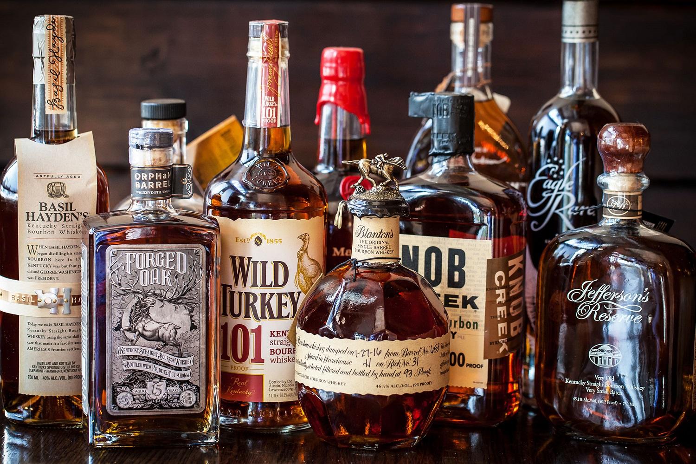 Các loại Bourbon chỉ có tại Mỹ