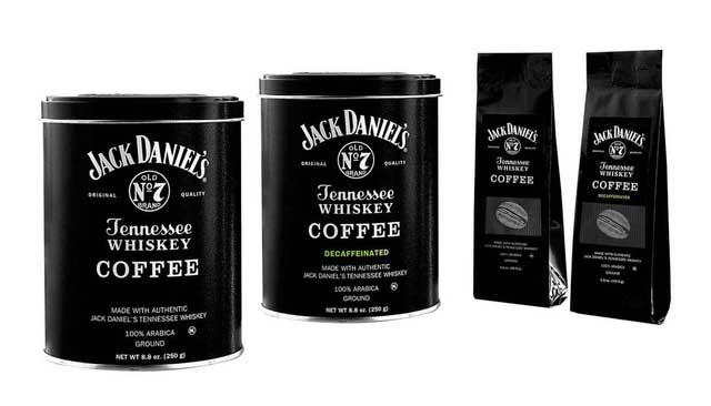 Các loại Cafe tẩm hương liệu Jack Daniel