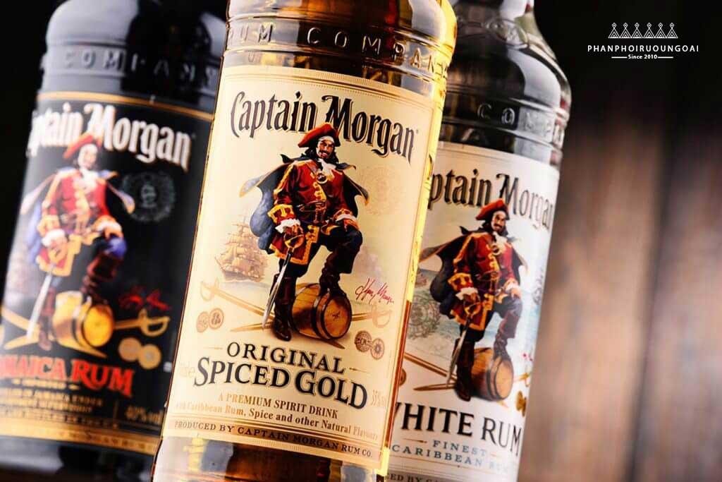 Các loại rượu Captain Morgan