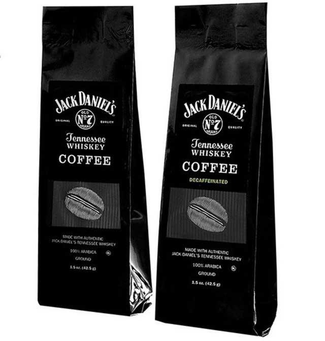 Cafe túi tẩm hương rượu Whiskey No.7 của nhà Jack Daniel