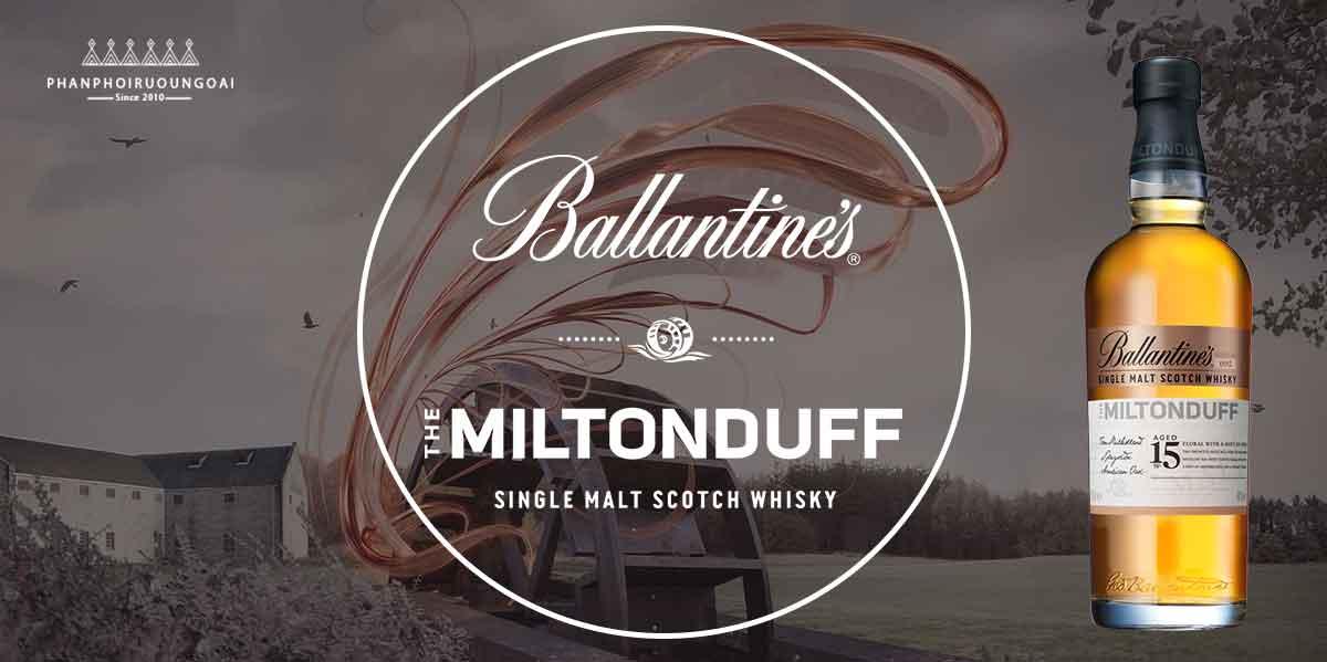 Chất lượng tuyệt hảo của rượu Miltonduff