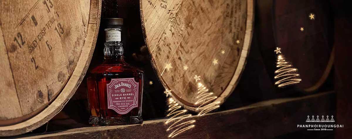 Giới thiệu về rượu SIngle Barrel Rye của Jack Daniel