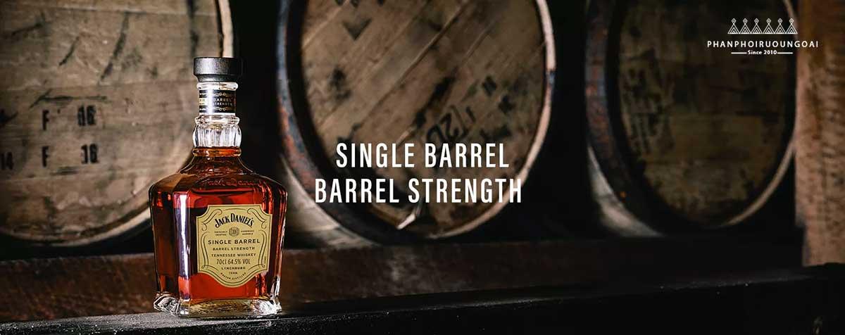 Giới thiệu về rượu Single Barrel Strength của nhà Jack Daniel