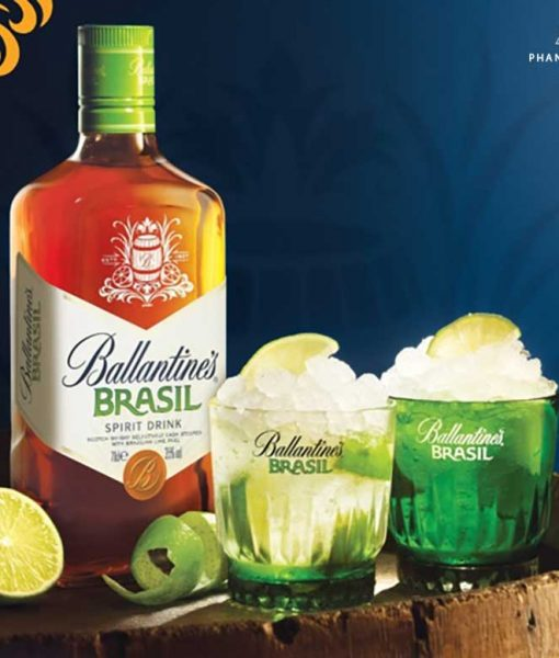 Ly cocktail tuyệt hảo với rượu Ballantine's Brasil