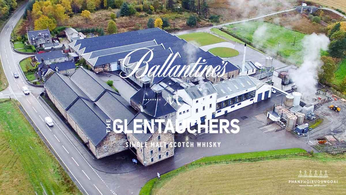 Nhà máy trưng cất rượu Glentauchers 15