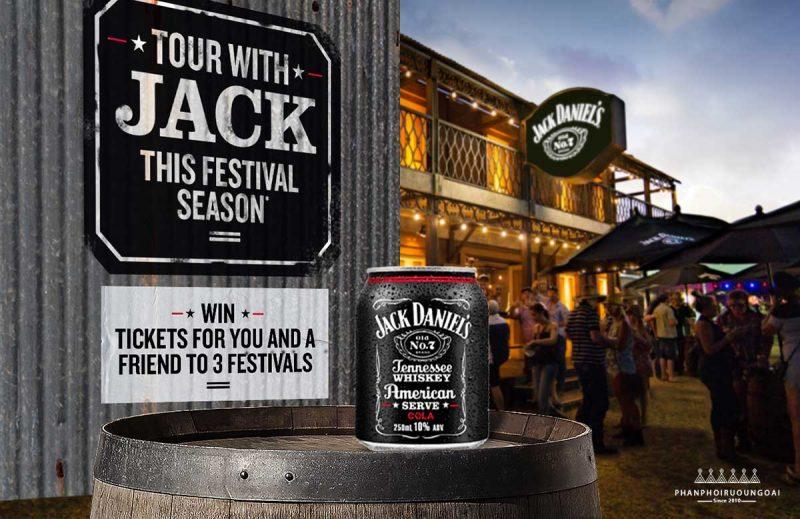 Quán Jack Daniel được Jack mở ra để thưởng thước Tennessee Whiskey cùng những người bạn