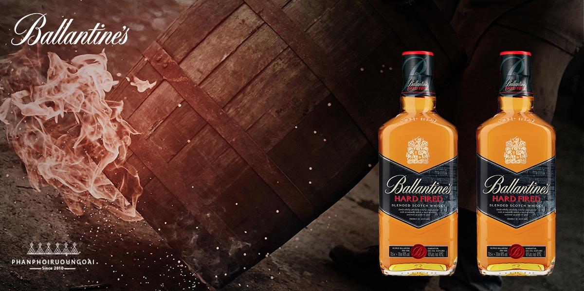 Rượu Ballantine's Hard Fired - sản phẩm cho các bữa tiệc đêm