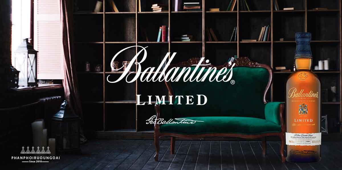 Rượu Ballantine's Limited món quà sang trọng và đẳng cấp