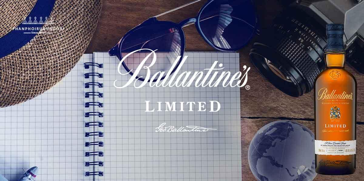 Rượu Ballantine's Limited sản phẩm dành cho người mà có mọi thứ