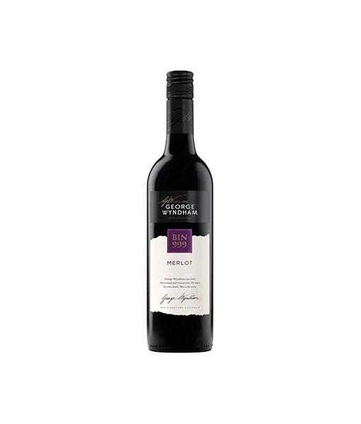 Rượu vang Úc George Wyndham Bin 999 Merlot