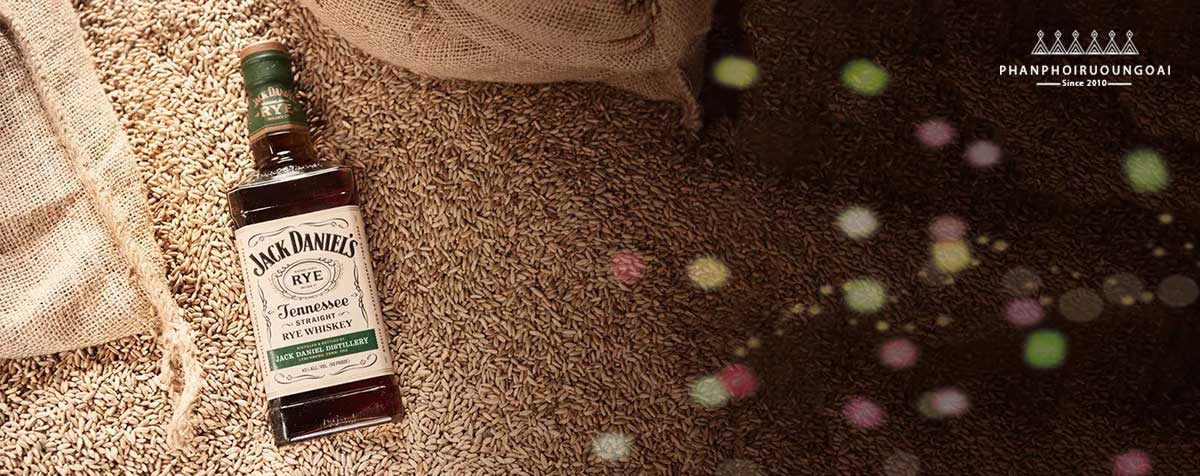 Rượu Whisky Mỹ Jack Daniel Tennessee Rye