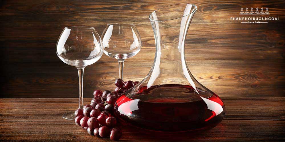 Bạn có biết về Decanter rượu vang đỏ