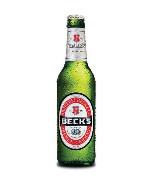 Bia chai beck 330 ml