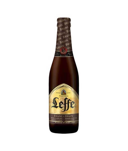 Bia Leffe chai nâu 330 ml