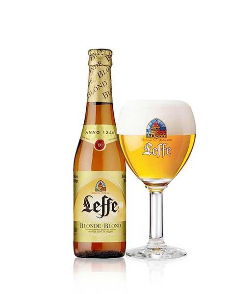 Bia Leffe chai vàng 330 ml